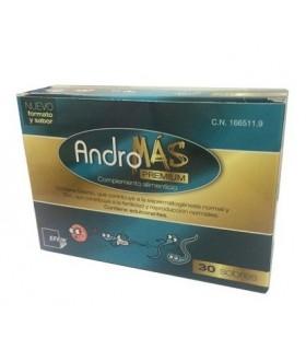 ANDROMAS PREMIUM 30 SOB+30 CAPS Fertilidad y Complen Alimentarios y vitamin