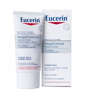 EUCERIN ATOPICONTROL CREMA FACIAL 50 M Piel atopica y Higiene Corporal