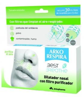 ARKORESPIRA DILATADOR NASAL CON FILTRO Congestion Nasal y Cuidado Respiratorio
