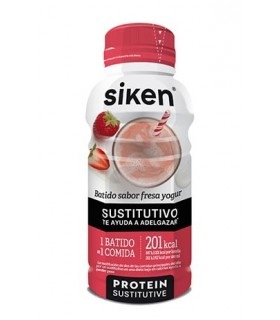 SIKEN BATIDO FRESA YOGUR SUSTITUTIVO 325 ML Dieta y Adelgazamiento