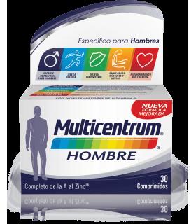 MULTICENTRUM HOMBRE 30 COMPRIMIDOS Multivitaminicos y Complen Alimentarios y vitamin