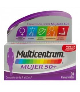 MULTICENTRUM MUJER 50+ 90 COMPRIMIDOS Multivitaminicos y Complen Alimentarios y vitamin