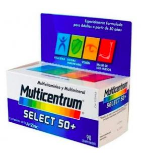 MULTICENTRUM SELECT 50+ 90 COMPRIMIDOS Multivitaminicos y Complen Alimentarios y vitamin