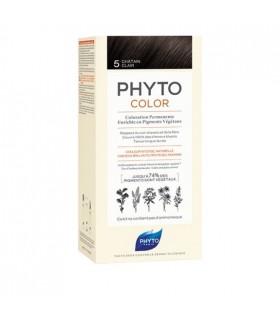 PHYTO COLOR No 5 CASTAÑO CLARO Tintes y Higiene Capilar
