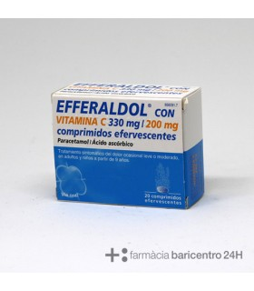 EFFERALGAN VITAMINA C 20 COMPRIMIDOS EFERVESCENT