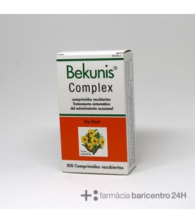 BEKUNIS COMPLEX 100 COMPRIMIDOS GASTRORRESISTENT