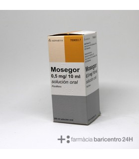 MOSEGOR 0.25 MG-5 ML SOLUCION ORAL 200 ML