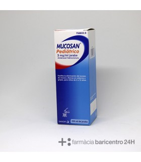 MUCOSAN PEDIATRICO 3 MG-ML JARABE 200 ML