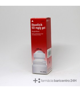 IBUSTICK 50 MG-G GEL TOPICO ROLLON 60 G