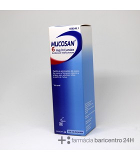 MUCOSAN 6 MG-ML JARABE 250 ML