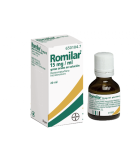 ROMILAR 15 MG-ML GOTAS ORALES SOLUCION 20 ML