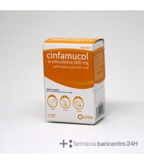 CINFAMUCOL ACETILCISTEINA 600 MG 10 SOBRES