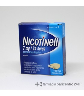 NICOTINELL 7 MG-24 H 14 PARCHES TRANSDERMICOS 17