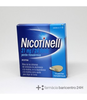 NICOTINELL 21 MG-24 H 14 PARCHES TRANSDERMICOS 5