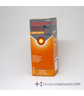 NUROFEN EFG 20 MG-ML SUSPENSION ORAL 200ML NARAN