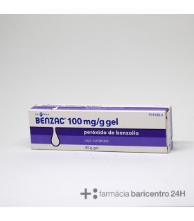 BENZAC 100 MG-G GEL TOPICO 40 G