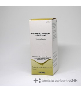 HODERNAL 800 MG-ML SOLUCION ORAL 300 ML