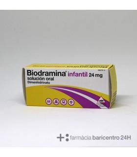 BIODRAMINA INFANTIL 24 MG SOLUCION ORAL 5 MONODO