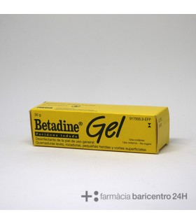 BETADINE 100 MG-G GEL TOPICO 30 G