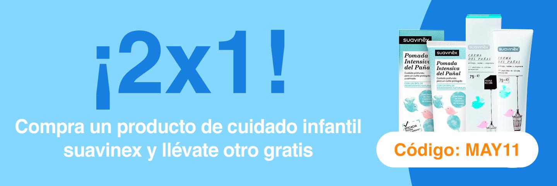 2x1 en cuidado infantil Suavinex
