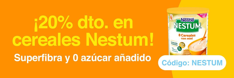 20% de descuento en Cereales Nestum